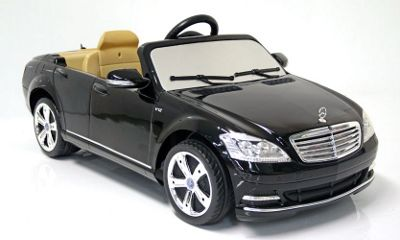kids electric car mercedes benz s class 12 volt black gloss