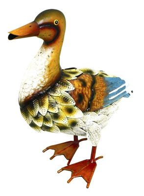 Kreatif Kraft Duck Metal Garden Ornament
