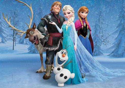 Disney Frozen Wall Mural