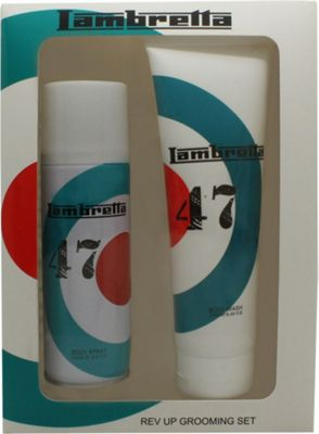 Lambretta L47 Target Gift Set 250ml Body Wash + 200ml Body Spray