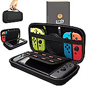 Orzly Protective Case for Nintendo Switch Console - Black
