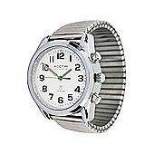 RNIB Gents Talking Watch With Expanding Bracelet Strap