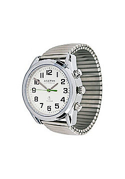 RNIB Gents Talking Watch With Expanding Bracelet Strap