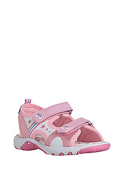 F&F Unicorn Trekker Sandals - Pink