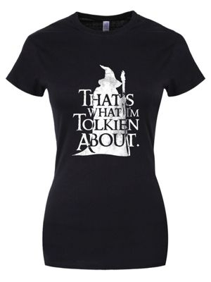 That's What I'm Tolkien About Women's Black T-shirt