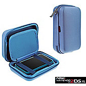 Navitech Light Blue Premium Travel Hard Carry Case Cover Sleeve For The Nintendo 2DS XL
