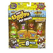 The Ugglys Pet Shop! Ugly Pet 8 Pack