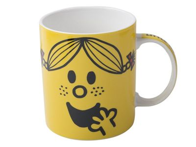 Creative Tops Mr Men Little Miss Sunshine Face Can Mug Cup