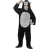 Gorilla Children's Costume - Black & Multi