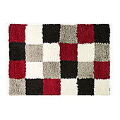 Nordic Andes Red & Grey Rug - 160x230cm