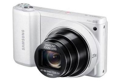 Samsung WB800F Camera White 16.3MP 21xZoom 3.0LCD FHD 23mm Wide SD/SDHC/SDXC