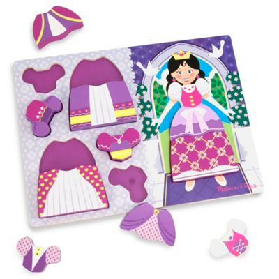 Melissa and Doug Chunky Puzzle Dress Up Princess
