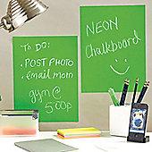 Neon Green Chalkboard - 2 Pack