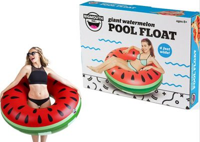 BigMouth Inflatable Giant Watermelon Pool Float Beach Holiday Swimming Lounger Water Beach