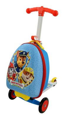 Paw Patrol Kids Scooting Suitcase 3 in1 Scooter