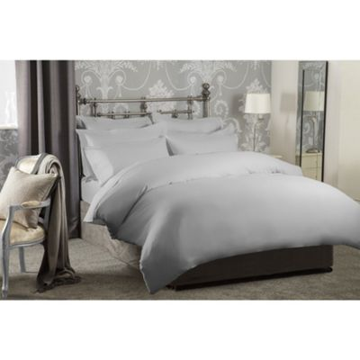 Belledorm Finest 1200 Thread Count Platinum 15 Inch Fitted Sheet - Single
