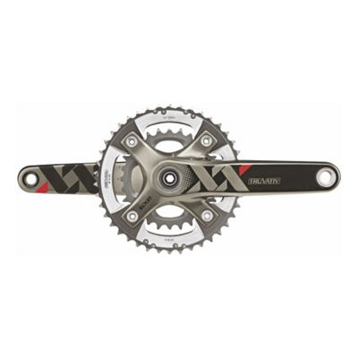 SRAM XX Chainset -BB30 - 2x10 - Q-factor 164 - 170mm - 39-26 (Excludes BB)