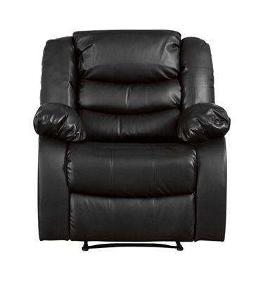 Sofa Collection Windermere Recliner Armchair - 1 Seat - Black