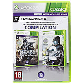 Ghost Recon Future Soldier + Ghost Recon Advanced Warfighter 2 Double Pack - Xbox-360
