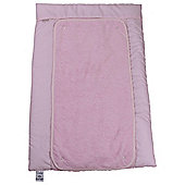 Clair de Lune Polly Cotton Baby Changing Mat, Pink
