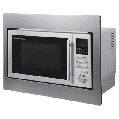 Rus Hobbs Rhbm2503 Built In 25 Litre Digital Combination Microwave Stainless Steel