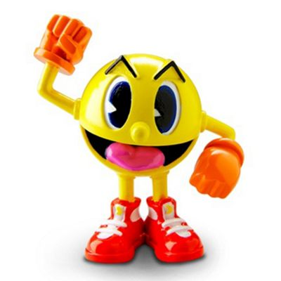 Pac-Man and the Ghostly Adventures Poseable Figure Yellow Pac