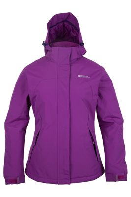 Spirit Womens Insulated Hooded Fleece Lined Snowboarding Skiing Ski Jacket