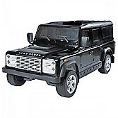 Licensed Land Rover Defender Ride On Car - Kids Electric Car - 12v Black