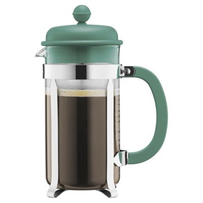 Bodum Caffettiera 8 Cup Coffee Maker, Green