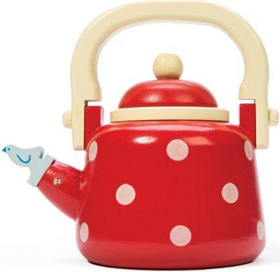 Le Toy Van Honeybake Dotty Kettle Wooden Toy