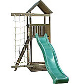Action Arundel Wooden Children's Climbing Frame with Slide and Climbing Net