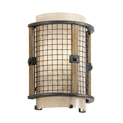 Anvil Iron 1lt Wall Light - 1 x 60W E14