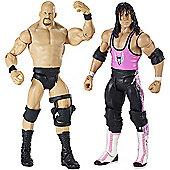 WWE Wrestlemania 2 pack - Stone Cold Steve Austin vs Bret Hart