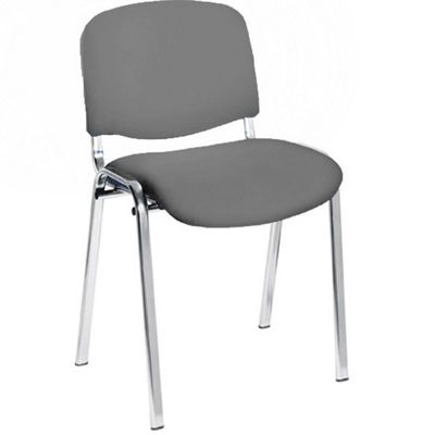 Eliza Tinsley Chrome framed stackable conference/meeting chair