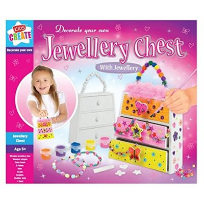 Childrens Decorate your own Jewellery Chest - Activity Pack