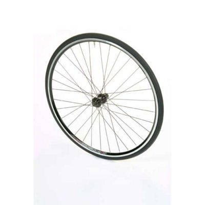 700c Alloy Silver Q/R S/W Freewheel Compatible (Pair)