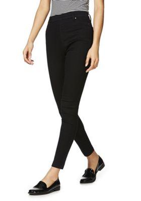 F&F Premium Mid Rise Jeggings 12 Regular leg Black