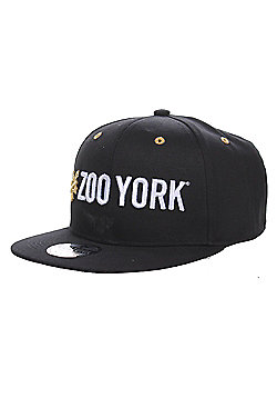 Zoo York Island Mens Skate Snapback Baseball Cap Hat - Black