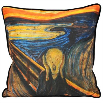 Riva Home Scream Multicolour Cushion Cover - 45x45cm