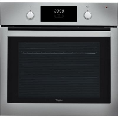 Whirlpool AKP745IX 600mm Built-in Single Electric Oven, Stainless Steel