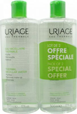 Uriage Micellar Water Duo 2 x 500ml - Combination to Oily Skin