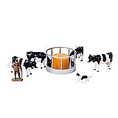 Britains 1:32 Cattle Feeder Set