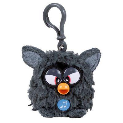 Furby Talking Key Ring - Black