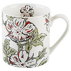 National Trust Mug Gift Set, Floral White