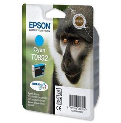 Epson DURABrite T0892 Ink Cartridge - Cyan (Inkjet - 1)