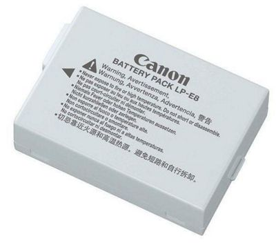 Canon LP-E8 Camera Battery - Grey