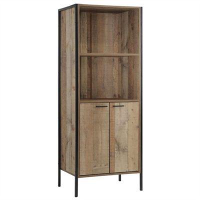 Stretton Storage Bookcase - Rustic