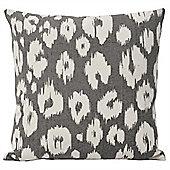 Riva Home Mono Taza Grey Cushion Cover - 45x45cm
