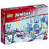 LEGO Juniors Anna & Elsas Frozen Playground 10736