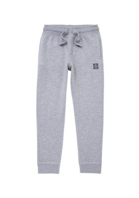 F&F Marl Cuffed Joggers with As New Technology 8-9 years Grey